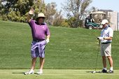 LOS ANGELES - APR 14:  Richard Karn at the Jack Wagner Anuual Golf Tournament benefitting LLS at Lak
