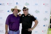 LOS ANGELES - APR 14:  Richard Karn, Tim Allen at the Jack Wagner Anuual Golf Tournament benefitting