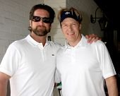 LOS ANGELES - APR 14:  Grant Reynolds, Jack Wagner at the Jack Wagner Anuual Golf Tournament benefit