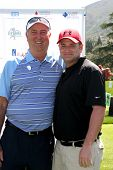 LOS ANGELES - APR 14:  Dennis Wagner, Tim Curren at the Jack Wagner Anuual Golf Tournament benefitti