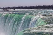 Part Of The Horseshoe Falls During The Day