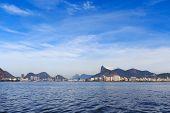 Beach Flamengo, Botafogo, Corcovado, Rio De Janeiro
