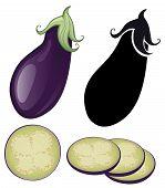 Stylized Eggplant
