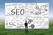 Businessman With Seo Strategy 1