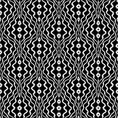 Design Seamless Monochrome Trellis Decorative Pattern