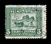 Italian colony Eritrea 1910