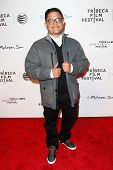 NEW YORK-APR 17: Carlos Jovel attends the 'When the Garden Was Eden' premiere at the 2014 TriBeCa Fi