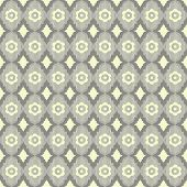 Seamless vintage abstract geometric vector wallpaper.
