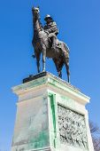 Ulysses S. Grant Memorial Statue In Washington Dc