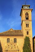 Church Iglesia Of Santa Anna Rio Darro Granada Andalusia Spain