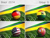 Brazil 2014, Group G