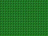 Green tweed background