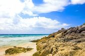foto of playa del carmen  - Caribbean sea scenery in Playacar  - JPG