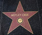 Motley Crue Star On The Walk Of Fame