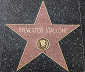 Sylvester Stallone Star On The Walk Of Fame