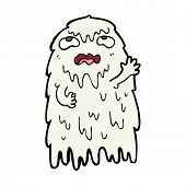 pic of grossed out  - gross cartoon ghost - JPG