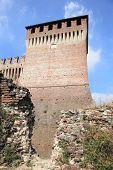 castle ruins of Soncino