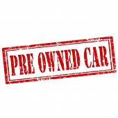Pre Owned Car-stamp