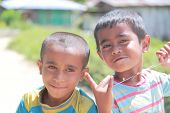 Indonesian kids in Flores