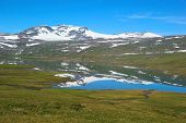 Summer Fjell Landscape in Norway