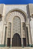 Mosque Hassan Ii In Casablanca