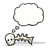 spooky fish bones