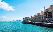 City Wharf And Blue Sea