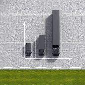 Business Logistic Transportation Black Service Graphs Illustration