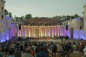 Open air opera concert.