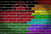 Dark Brick Wall - Lgbt Rights - Malawi