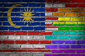 Dark Brick Wall - Lgbt Rights - Malaysia