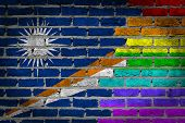 Dark Brick Wall - Lgbt Rights - The Marschall Islands