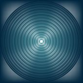 Concentric circles in the box