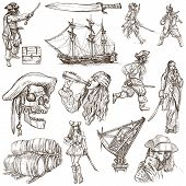 Pirates - Hand Drawn Collection