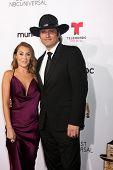 LOS ANGELES - OCT 10:  Alexa Vega, Robert Rodriguez at the 2014 NCLR ALMA Awards Arrivals at Civic Auditorium on October 10, 2014 in Pasadena, CA