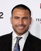 LOS ANGELES - OCT 10:  Rafael Amaya at the 2014 NCLR ALMA Awards Arrivals at Civic Auditorium on Oct
