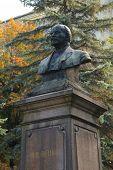 Monument to Vladimir Lenin in Chernyakhovsk, Russia