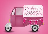 Pink trunk for Breast Cancer Prevention