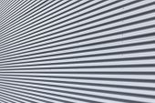 Corrugated Aluminium Wall