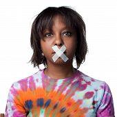 Disenfranchised African American Woman