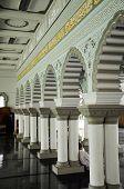 Interior of Zahir Mosque a.k.a Masjid Zahir in Kedah