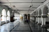 Interior of Masjid Zahir in Kedah