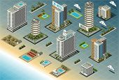 Isometric Seaside Buildings