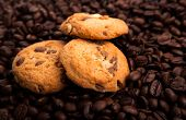 Cookies On The Coffee Beans