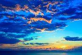 Evening glow of Okinawa