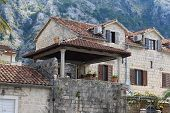 Old House In The Mountains In Kotor, Montenegro