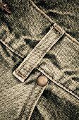 Denim Pants Close Up