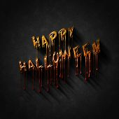 Halloween Greetings lettering