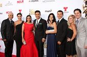 LOS ANGELES - OCT 10:  Mario Lopez and family at the 2014 NCLR ALMA Awards Arrivals at Civic Auditorium on October 10, 2014 in Pasadena, CA