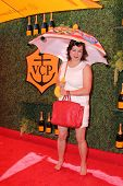 LOS ANGELES - OCT 11:  Jennifer Tilly at the Fifth-Annual Veuve Clicquot Polo Classic at Will Rogers State Historic Park on October 11, 2014 in Pacific Palisades, CA